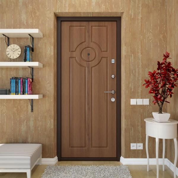 дизайн входная стальная дверь